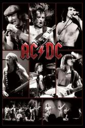AC/DC poster: Live Collage (24 X 36) New